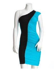 2b ColorBlock Braided Jersey Dress to wear to a wedding