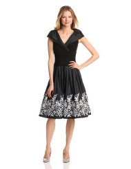 Dresses to Wear to a Wedding - Jessica Howard Women's Sleeveless Portrait Collar Surplus Bodice Dress
