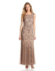 Dresses to Wear to a Wedding - Adrianna Papell Women's Cap Sleeve Beaded Dress