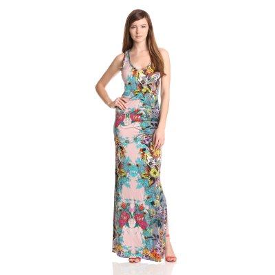 Dresses to Wear to a Wedding - Nicole Miller Women's Wildflower Maxi Dress