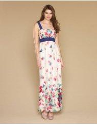 Dresses to Wear to a Wedding - Monsoon Womens Christie Print Maxi Dress