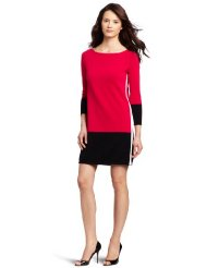 Dresses to Wear to a Wedding - Magaschoni Women's Color Block Shift Dress
