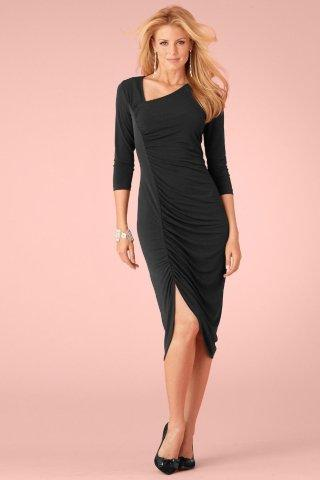 Metrostyle Side Ruched Dress