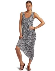 Zebra Dresses to Wear to a Wedding - Majestic Swim Women's Tank Dress with Zebra Print