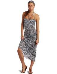 Zebra Dresses to Wear to a Wedding - Majestic Swim Women's Long Dress