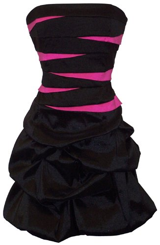 Strapless Bandage Mini Bubble Dress Prom Party Formal Gown Dress to Wear to a Wedding